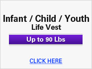 Infant / Child / Youth Life Vest
