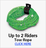 Up to 2 Riders Tow Rope