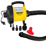 """""""Airhead Electric Outlet Air Pump Brand New Includes 90 Days Warranty, The Airhead AHP120S is a 120 volt air pump for inflating and deflating your tube at unprecedented speed"""