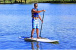 """Airhead SUP Inflatable Stabilizers Set Brand New Includes One Year Warranty, The Airhead AHSUP-A005 SUP Inflatable Stabilizers convert any SUP to a stable platform for fishing, yoga or bringing a dog or child along"