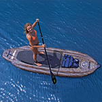 """""""AIRHEAD SS SUP, Camo Brand New Includes 90 Days Warranty, The Airhead AHSUP-3 is Super Stable Stand Up Paddleboard which offers maximum stability and an anti-skid EVA pad for securing your footing, making this a great board for beginners"""