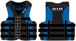 Airhead 1001404bbl Neo / Nylon Hybrid Life Vest - Small / Medium Blue