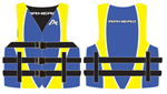 """Airhead Family Nylon Life Vest - Youth Blue Brand New Includes One Year Warranty, The Airhead 1001003ABLYW is a one of the best quality floatation vests for youth"