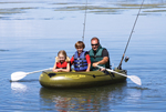 Airhead Ahibf03 Angler Bay 3 Person Inflatable Boat
