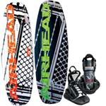 """Airhead Breakout w/ Vise Binding Brand New Includes 1 Year Warranty, The Airhead AHW-33 is a breakout wakeboard with VISE binding mainly designed to provide the full and the highest water sport experience to you"