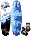 """""""Airhead 24/7 Carbon w/ Assault Binding Brand New Includes 1 Year Warranty, The Airhead AHW-87 is a carbon wakeboard with ASSAULT binding mainly designed to provide the full and the highest water sport experience to you"""