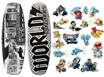 """World Industries Stick-O-Rama Wakeboard Brand New Includes 1 Year Warranty, The World Industries WIW-2010 is a Stick-O-Rama wakeboard mainly designed to provide the full and the highest water sport experience to you"