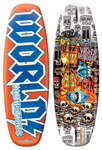 """World Industries VOO DOO Wakeboard Brand New Includes 1 Year Warranty, The World Industries WIW-2020 is a 135cm Voo Doo wakeboard mainly designed to provide the full and the highest water sport experience to you"