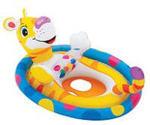 """Intex See-Me-Sit Rider - Tiger Brand New Includes 90 Day Warranty, The Intex 59570EP See-Me-Sit Rider is a great way to introduce your baby to water to have some fun"