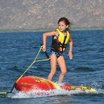 """Airhead EZ Wake Trainer Brand New Includes 90 Day Warranty, The Airhead AHEZ300 EZ Wake is SKI trainer and bodyboard in one, mainly designed to provide the full and the highest water sport experience to your kids"