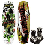 Airhead AHW4016 Apocalypse Wakeboard w/Grind