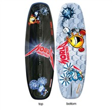 124 cm Wakeboards  world industries wiw1