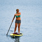 """""""Rave Sports Expedition 12'6"""""""" SUP Brand New Includes Limited 1 Year Warranty, The Rave Sports 02498 is the top long distance Expedition Stand Up Paddle board features a wave piercing construction combined with a displacement hull to provide maximum forward momentum with minimal pitch"""