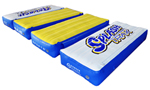 """""""Rave Sports Splash Trax Wobbly Bridge Brand New Includes Limited Lifetime Warranty, The Rave Sports 02481 Splash Trax Wobbly Bridge is to be used with the Water Whoosh, Aqua Jump Eclipse Water Trampoline, Bongo bounce platforms and Rope Swing"""